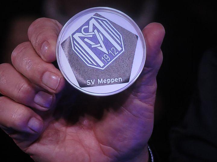 Pokallos SV Meppen (Quelle: Screenshot ARD)