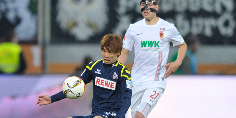 FC Augsburg v 1. FC Köln effzeh Osako