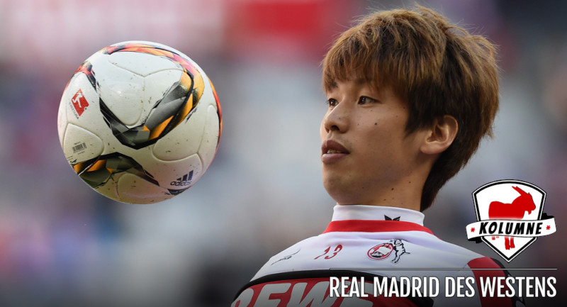 MUNICH, GERMANY - OCTOBER 24: Yuya Osako of Koeln warms up prior to the Bundesliga match between FC Bayern Muenchen and 1. FC Koeln at Allianz Arena on October 24, 2015 in Munich, Germany. (Photo by Matthias Hangst/Bongarts/Getty Images)