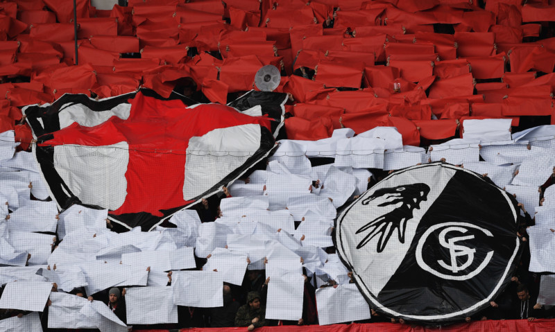 Fans Choreo SC Freiburg