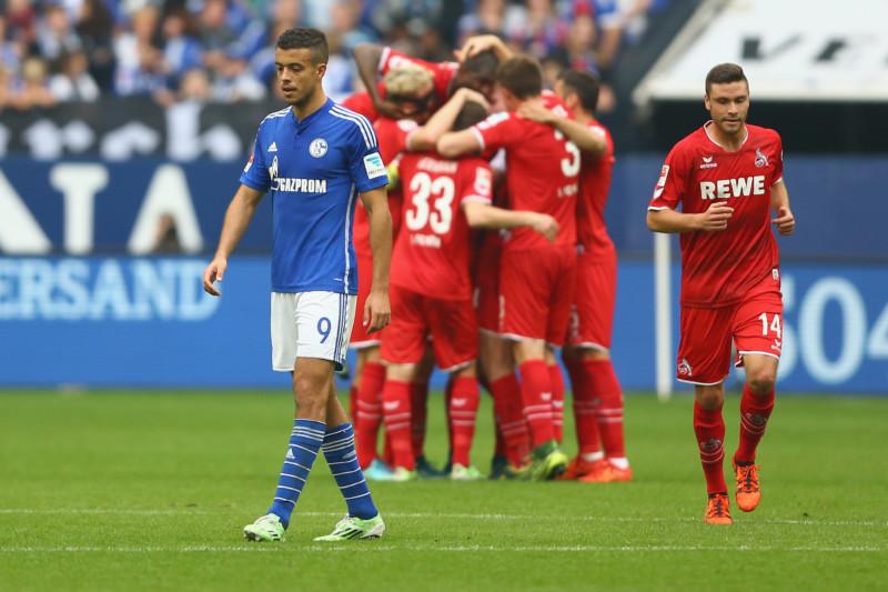 1. FC Köln Schalke 04 Jubel