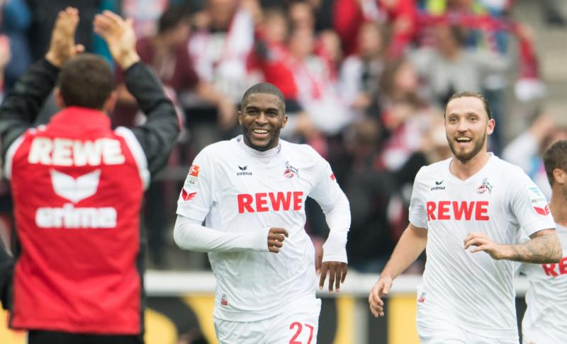 Modeste Torjubel 1. FC Köln FC Ingolstadt