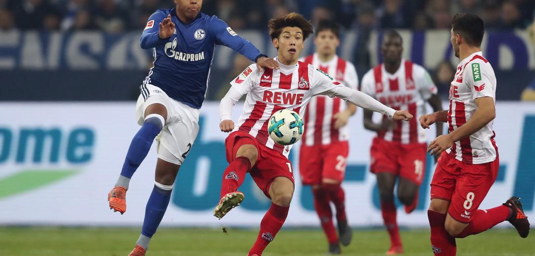Auswarts Auf Schalke Guirassys Doppelpack Sichert Dem  Fc Koln Einen Punkt