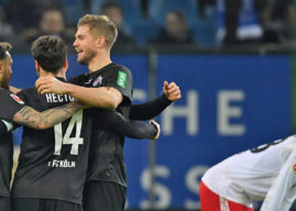 Hinten Horn, vorne Terodde: 1. FC Köln hält die Hoffnung am Leben