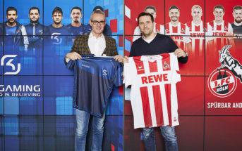 SKGaming und der 1. FC Köln kooperieren in Zukunft im Bereich E-Sport