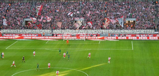 Südkurve Köln / Foto: Rote Böcke