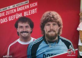 Ausstellung zum 70. Geburtstag des 1. FC Köln: E Jeföhl dat verbingk
