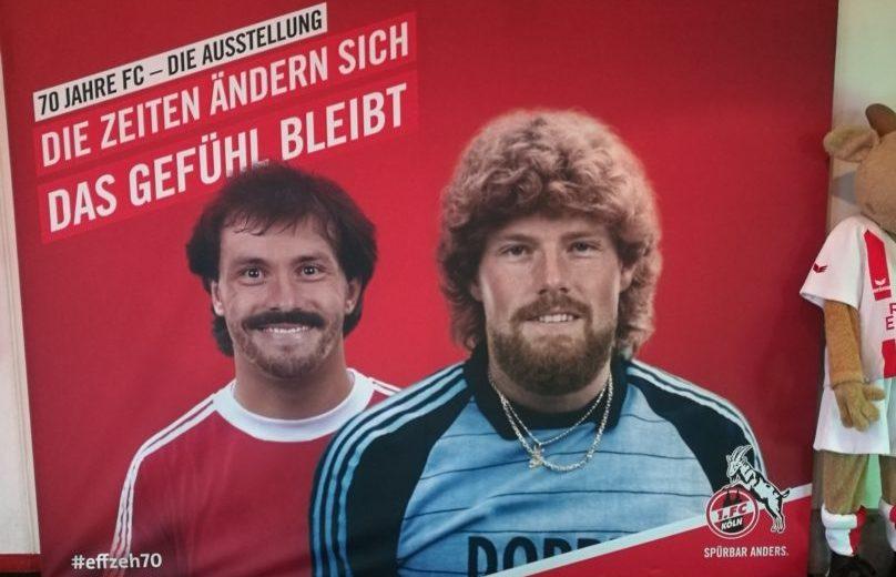 Ausstellung 70. Geburtstag 1. FC Köln