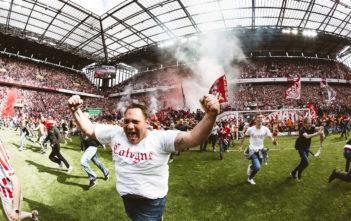 Nur einmal nach Europa Bildband Interview Sebastian Bahr 1. FC Köln Europapokal