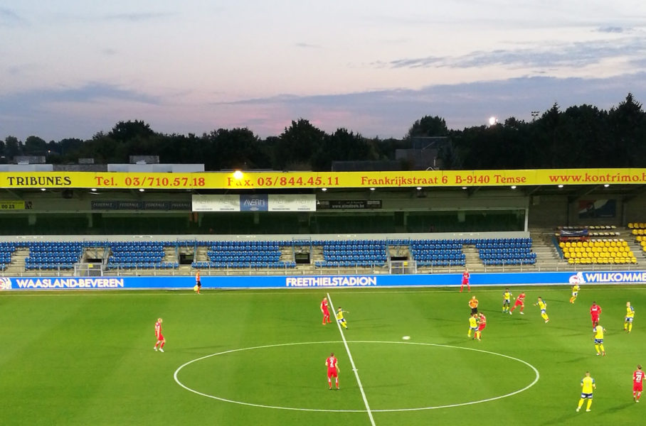 Testspiel Waasland Beveren 1. FC Köln Freethiel-Stadion