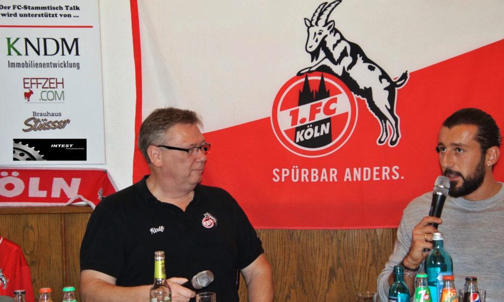 Dominic Maroh FC-Stammtisch Talk Ralf Friedrichs