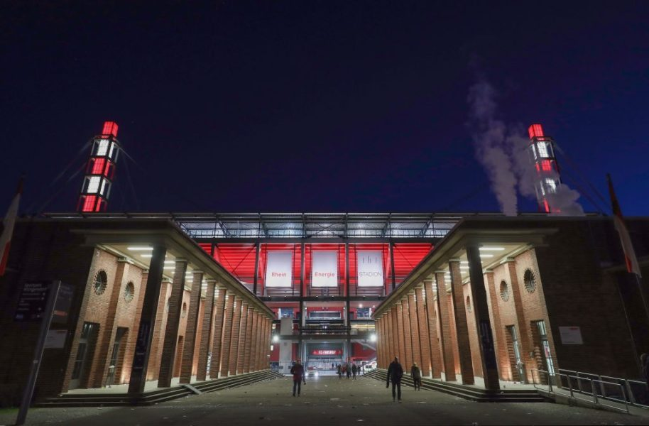 COLOGNE, GERMANY - FEBRUARY 17: A general view after the Bundesliga match between 1. FC Koeln and Hannover 96 at RheinEnergieStadion on February 17, 2018 in Cologne, Germany. (Photo by Alex Grimm/Bongarts/Getty Images)