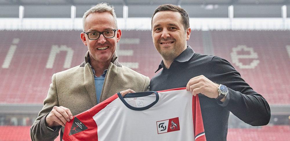 FC-Finanzgeschäftsführer Alexander Wehrle (l.) mit SK-Gaming-Gründer Alexander Müller | Foto: 1. FC Köln
