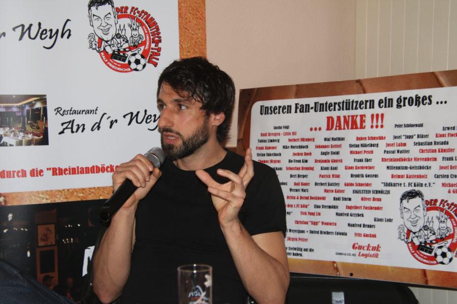 FC-Stammtisch Talk Ralf Friedrichs Thomas Broich