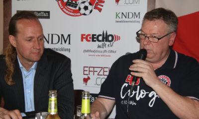 FC-Stammtisch Talk Ralf Friedrichs Stefan Müller-Römer
