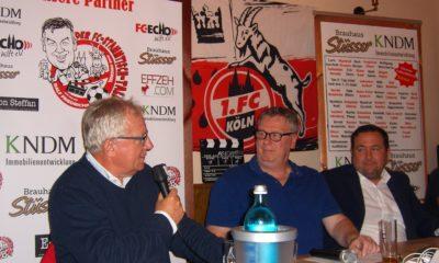 FC-Stammtisch Talk Faßbender Friedrichs Schmidt Schell