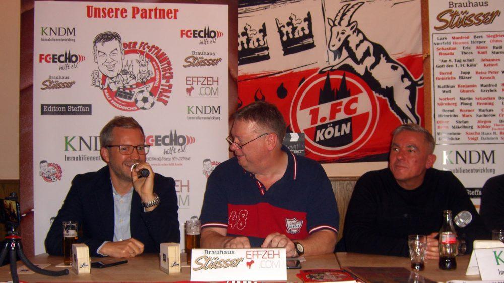Janßen Löer Hauser Friedrichs FC-Stammtisch Talk
