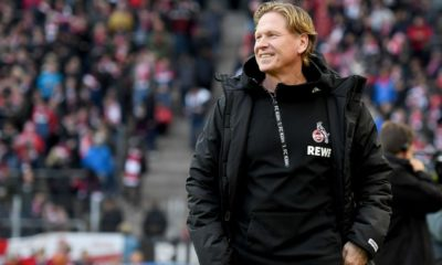 COLOGNE, GERMANY - DECEMBER 21: Markus Gisdol, Head Coach of 1. FC Koeln looks on prior to the Bundesliga match between 1. FC Koeln and SV Werder Bremen at RheinEnergieStadion on December 21, 2019 in Cologne, Germany. (Photo by Jörg Schüler/Bongarts/Getty Images)