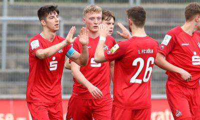 1. FC Köln U19 Jubel