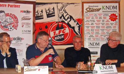 FC-Stammtisch Talk Löer Friedrichs Janßen Hauser
