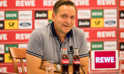 Horst Heldt Pressekonferenz