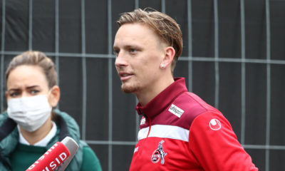 1.FC Köln, Training, Marius Wolf 1.FC Köln, 06.10.2020, *** Sport 1 FC Köln, Training, Marius Wolf 1 FC Köln , 06 10 2020,