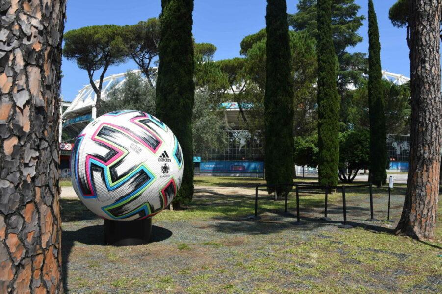 The Olympic Stadium in Rome ready for the opening match of Euro 2020 Turkey-Italy. Rome Italy, June 10th, 2021 Rome Italy - ZUMAm169 20210610_zac_m169_007 Copyright: xMassimoxInsabatox