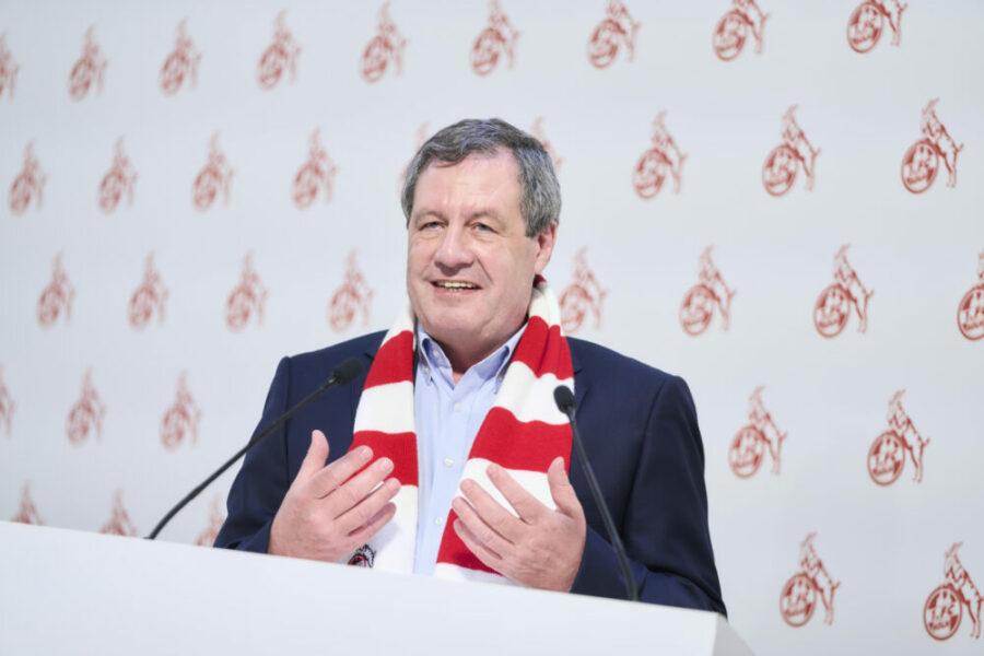 Werner Wolf 1. FC Köln Mitgliederversammlung MV 2021