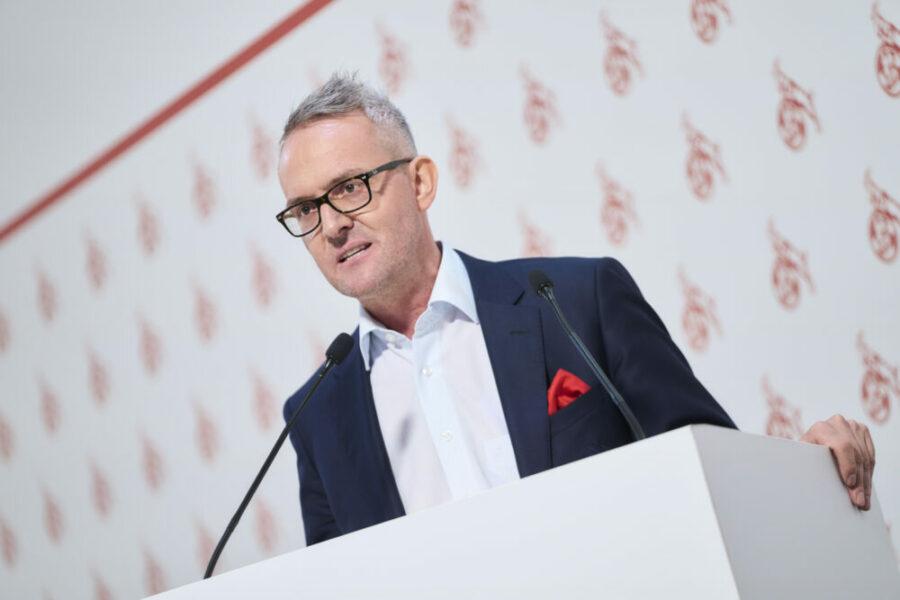 Alexander Wehrle 1. FC Köln Mitgliederversammlung MV 2021